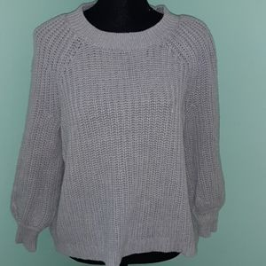 Aerie chunky heavy knit sweater